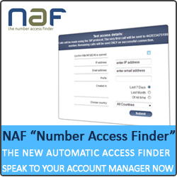 New number access finding tool