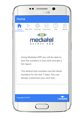 New Mediatel Android Access APP