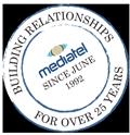 Mediatel stamp