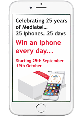 WIN AN IPHONE EVERY DAY